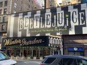 Beetlejuice Marquee on Broadway