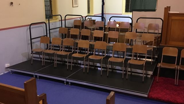 Portable Seating and Stages